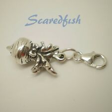 3D Turnip Sterling Silver Clip on Charm