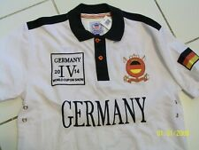 WORLD CUP ON SHOW 2014 - NEW ROYAL CLUB GERMANY #3- WHITE SHIRT SMALL NEW/TAGS