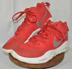 Nike Zoom Rev TB Sneakers Shoes. Men's 8.5. Red. 922048-600.