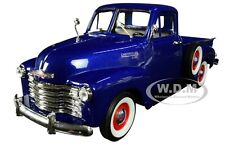 Box Damaged 1953 CHEVROLET 3100 PICKUP TRUCK BLUE 1/24-1/27 DIECAST WELLY 22087