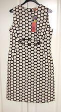 NWT Tory Burch Clea brown ivory dot cotton shift dress sz 8 $350