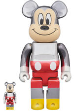 NEW BE@RBRICK 100% & 400% fragmentdesign MICKEY MOUSE COLOR Ver. from Japan