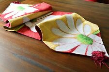Tache Colorful Floral Spring Decorative Love Me Not Tapestry Table Runner Linen