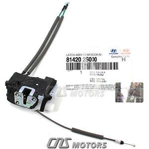 OEM Hyundai Door Lock Actuator REAR RIGHT PASSENGER for 11-15 Tucson 814202S000