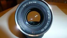 Slightly USED Carl ZEISS PLANAR T * 50mm f/1.4 ZE Canon EF Manual Focus Lens