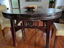 Circular Wooden Hand Crafted Table