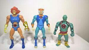"Thundercats Classics 8"" Lion-O & Tygra + Vintage 80s Mumm- Ra / Figure Bundle"