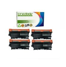 4pk Black Toner Cartridge High Yield For Brother TN450 HL-2240 2270DW MFC-7360N