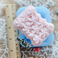 Frangipanis Silicone Soap Craft Mold Cake Baking Tools DIY Chocolate Candy