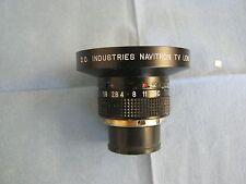 D.O. Industries Navitron TV Lens.  38mm.  F1.8.  Good Used Stock  <