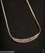 Gold Chunky  Twisted Chain Necklace