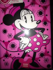 DISNEY JOURNAL BOOK COVER WITH MOVING LIGHTS MINNIE MOUSE