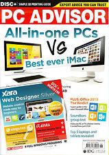 PC ADVISOR June 2013 All-in-One PC's vs Best Ever iMac MICROSOFT OFFICE 2013 NEW