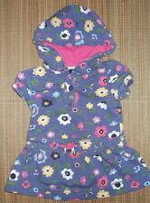 BABY GAP Girls Floral Hooded DRESS Size 3-6m Drop Waist Soft Cotton