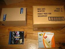 caisse 10x Virtua fighter 3 TB + Caisse 6x pack vibration Sega Dreamcast NEUF