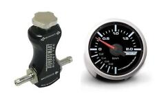 Turbosmart 52mm Boost Gauge Bar y Turbosmart Negro Controlador de refuerzo de manual