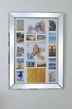 Stunning Mirror Frame Multi Picture Photo Collage 3ft6 x 2ft6 106cm x 76cm New