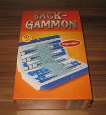 Mini Reise Magnet Backgammon - Bookmark Verlag Spiel Klassiker Neu & Ovp