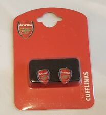Arsenal FC Crest Cufflinks - Official Licensed Product