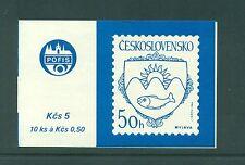 Czechoslovakia 1986 Myjava City Booklet