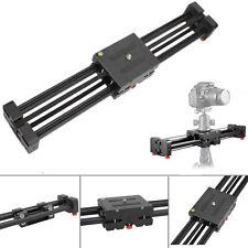Aluminum DSLR Camera Video Slider Dolly 50cm Track Rail Stabilizer 100cm Sliding
