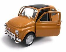 MV7 WELLY FIAT 500 1968 ARANCIO ORANGE  1:39 11,5 cm LEGENDARY