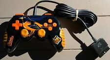 Mad Catz Playstation 2 PS2 MLB Baltimore Orioles Gamepad Controller, TESTED