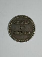 Jetons Cercle de Monaco - Jeton de Deux Francs - ARGENT