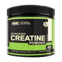 Optimum Nutrition Micronised Creatine 144g Powder - 40 Servings ! - No Fillers