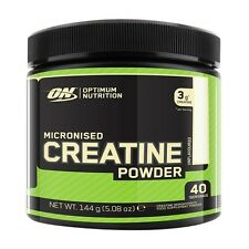 Optimum Nutrition Micronised Creatine 144g Powder - 40 Servings ! - No Fillers