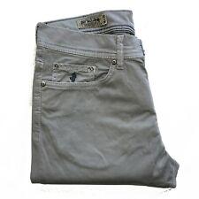 Jeans in cotne MARLBORO CLASSICS uomo pantalone regular tapered grigio 5024