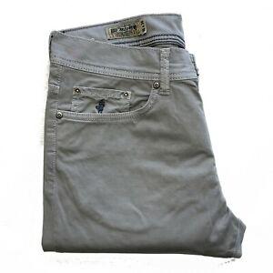 Jeans in cotone MARLBORO CLASSICS uomo pantalone regular tapered grigio 5024