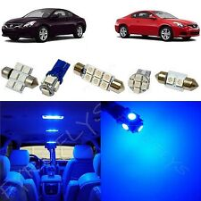 8x Blue LED Interior lights package kit for 2008-2013 Nissan Altima Coupe NA2B