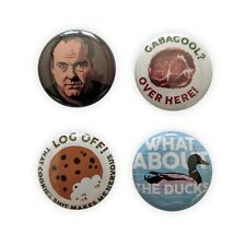 Tony Soprano inspired badge set!  james gandolfini paulie wallnuts gabagool