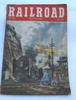 Vintage Railroad Magazine April 1951