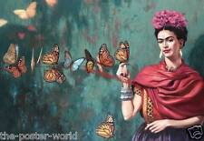 Frida Kahlo Image Picture Poster Home Art Print Wall Decor New