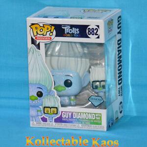 Trolls World Tour - Guy Diamond with Tiny Diamond Glitter Pop! Vinyl Figure #882