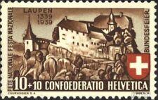 Schweiz 356 (kompl.Ausgabe) postfrisch 1939 Laupenschlacht