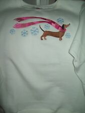 Dachshund Personalize Sweatshirt Embroidered Beautiful Gift