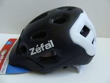 NWT Zefal Pro Mountain Adult Bike Helmet 14+ Yrs Bicycle Adjustable Fit Black