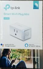 TP-LINK - Smart Wi-Fi Plug Mini - White HS105 New!