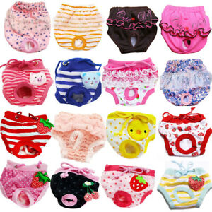 Female Pet Dog Puppy Physiological Pants Sanitary Nappy Diaper Shorts Underwear