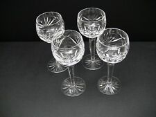 Vintage Waterford ASHLING (Cut) Wine Hocks Glasses / Set of 4