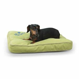 "K&H Pet Products Just Relaxin' Indoor/Outdoor Pet Bed Small Green 18"" x 26"" x 3."