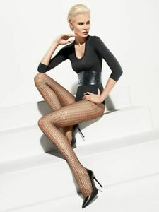Wolford  Suada medium  dark indigo M tights