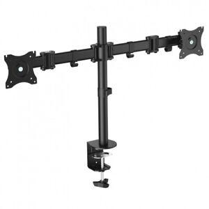"""Soporte Equip. Brazo Articulado para 2 Monitores de 13""""-27"""" - VESA 100x100"""