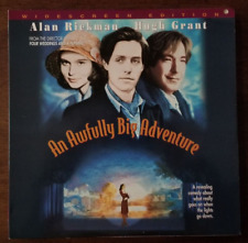 LASERDISC Movie: AN AWFULLY BIG ADVENTURE - Alan Rickman, Hugh Grant