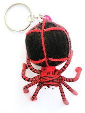 Halloween Spider Spidy Voodoo Horror String Doll Charm Key Ring Keyring