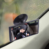 1X Car Truck Easy View Rear Back Seat Baby Child Safety Mirror Suction Mirro Q*
