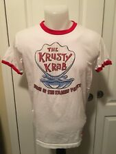 Universal Studios Offical  Spongebob Square Pants Small Krusty Krab Shirt Ringer